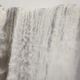 Ijslandse waterval in IJsland, Goddafoss, mooie trillende het beeldmening van het de zomerpanorama Royalty-vrije Stock Fotografie