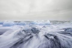 Ijsoverzees, IJsland Royalty-vrije Stock Afbeelding