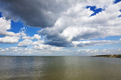 Ijsselmeer lake Stock Image