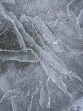 Ijstextuur, de winterachtergrond royalty-vrije stock afbeelding