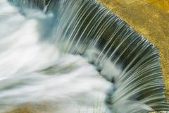 Ijver van het watervalwater stock foto