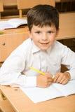 Ijverige leerling Stock Foto