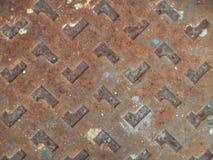 Ijzer en roesttextuur Stock Foto