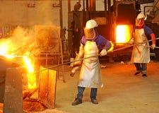 Ijzer en staal stock afbeeldingen
