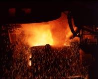 Ijzer en staal, de volledige pot van Cevhaer Stock Afbeelding
