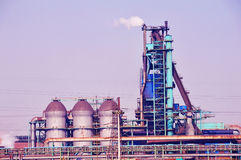 Ijzer en Staalfabriek stock fotografie
