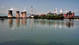 Ijzer en staalfabriek Stock Afbeeldingen