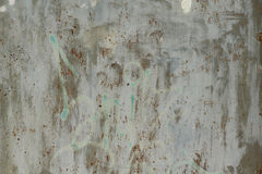 Ijzer natte muur, achtergrond Stock Foto's