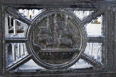 Ijzer omgezet in ijs Royalty-vrije Stock Afbeelding