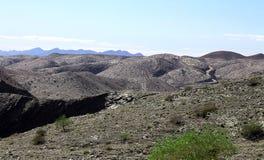 Ijzerbergen van Namibië stock foto's