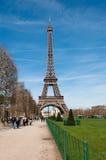 Ijzerdame in Parijs, Frankrijk Royalty-vrije Stock Foto's