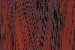 Ijzeroppervlakte met oude verf stock afbeelding