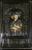 Ijzerportret van Koning Stock Fotografie