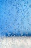 Ijzig de winterpatroon royalty-vrije stock afbeeldingen