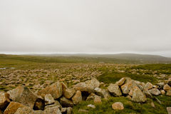 Ijzig landschap royalty-vrije stock fotografie