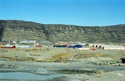 Ijzig landschap, Groenland stock fotografie