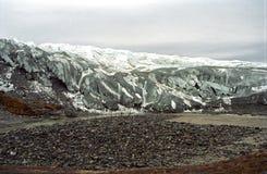 Ijzig landschap, Groenland royalty-vrije stock foto's