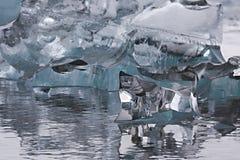 Ijzig meer in IJsland royalty-vrije stock foto's