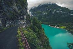 Ijzig Meer in Noorwegen royalty-vrije stock fotografie