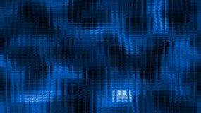 Ijzige blauwe achtergrond met donkere vlekken Stock Fotografie
