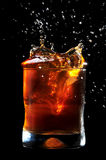 Ijzige Cokes Royalty-vrije Stock Foto's