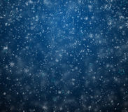Ijzige de winterachtergrond Stock Foto
