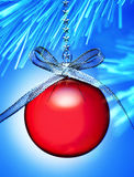 Ijzige Kerstmis van de Winter Royalty-vrije Stock Fotografie