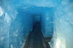 Ijzige tunnel Royalty-vrije Stock Fotografie