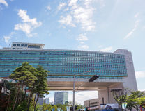 洪Ik大学在汉城韩国 免版税库存图片