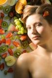 Ik ben een fruit Stock Afbeeldingen