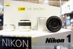 Ik BEN Nikon 1 stock afbeelding