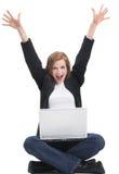 Ik ben online! Stock Foto
