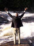 Ik ben vrij! Royalty-vrije Stock Afbeeldingen