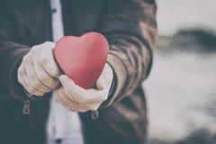 Ik bied u mijn hart aan Stock Afbeelding
