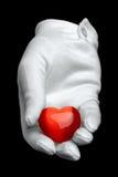 Ik geef u mijn hart Stock Afbeeldingen