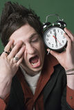 Ik haat mijn wekker Stock Fotografie