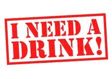 Ik heb een drank nodig! vector illustratie