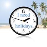 Ik heb vakantie nodig Stock Fotografie