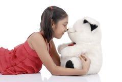 Ik houd teddy van u Stock Foto