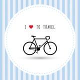 Ik houd van aan travel7 Stock Foto's