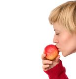 Ik houd van appelen Royalty-vrije Stock Foto