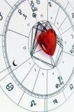 Ik houd van astrologie! Stock Fotografie
