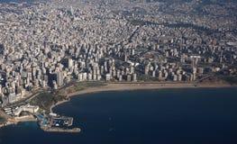 Ik houd van Beiroet stock afbeelding