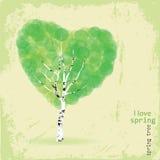 Ik houd van de lente Stock Foto's
