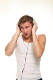 Ik houd van de muziek Stock Fotografie
