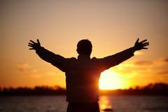 Ik houd van dit leven! Stock Fotografie