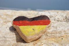 Ik houd van Duitsland Stock Foto's