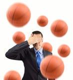 Ik houd van geen basketbal Stock Fotografie