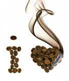 Ik houd van koffie Royalty-vrije Stock Foto's