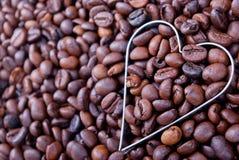 Ik houd van Koffie Stock Foto